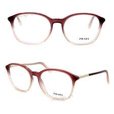 3715980206 Prada VPR19O JAH-1O1 Eyeglasses Rx Eyewear - Made in Italy - New Authentic