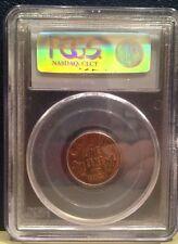 1923 PCGS Graded MS64 RB Rare Key Date Penny - high grade - NO RESERVE
