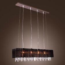 Dinning Restaurant Crystal Ceiling Pendant Lamp Chandelier Light Lighting CA
