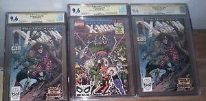 CGC SS Stan Lee 9.6 lot . (2) Uncanny X-Men 266 and (1) X-Men Annual 14. Rare!!!