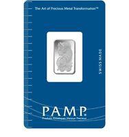 2.5 Gram Silver Bar -  PAMP Suisse Fortuna (New w/ Assay)