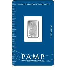2.5 Gram Silver Bar -  PAMP Suisse Fortuna (New w/ Assay)