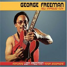 New Improved Funk - George Freeman (2009, CD NIEUW)