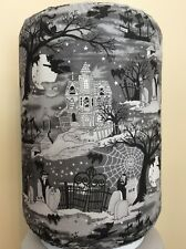 HALLOWEEN SPOOKY GRAVEYARD 5 GALLON WATER COOLER BOTTLE COVER KITCHEN DECORATION