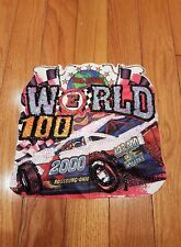 """World 100 sports car racing patch 11.5"""" X 11.5 """" t shirts/jeans/coats sew on"""