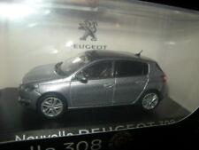 1:43 Norev Peugeot 308 Gris Artense Nr. 473808 OVP