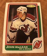 🚨 1986 John Maclean Rookie OPC 0-Pee-Chee New Jersey Devils 🚨
