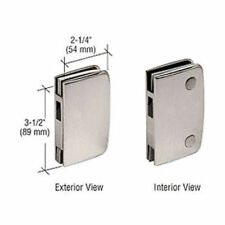 704 Frameless Glass Door Keep For Frameless Glass Bathroom Door Lock, Satin