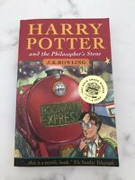 Harry Potter & the Philosopher's Stone First Edition,19th Impr with Young Wizard