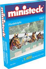 Ministeck Pixel Puzzle (31703): chevaux d'Etats (4 En 1 ) 1400 pièces