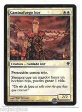 CAMINAFUEGO KOR FOIL Despertar Mundo Español Firewalker Worldwake MTG NM Magic