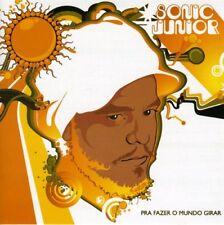Sonic Junior - Pra Fazer O Mundo Girar [New CD]