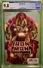 IRON MAN #2 (12/'20) CGC 9.8 NM/MT ALEX ROSS COVER VARIANT MARVEL COMICS WHITE