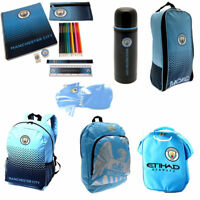 Manchester City Back To School Gym Bag Backpack Boot Bag Child Boys Girls