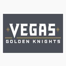 Vegas Golden Knights Woodmark #2 Logo NHL DieCut Vinyl Decal Buy 1 Get 2 FREE
