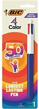 Bic Medium Point Ball Pen 4 Colors Assorted Ink 1 Per Pack