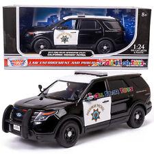 Motormax 76955 2015 Ford Explorer California Highway Patrol CHP 1:24 Diecast Car
