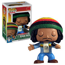Bob Marley Collectible: Rare Funko Reggae Rasta Pop! Rocks Vinyl Figure #08 (C2)