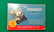 "Armed Services Edition 1942 ""The Tenderfoot"" a Western by W.H.B. Kent"