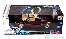 NUEVO 1:18 con / caja edición especial - LILA Lamborghini mucielago roastar