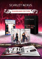 Scarlet Nexus Guardians Edition PS5 Playstation 5 + Art Book + Steelbook - EU