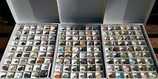 Lotto Stock Collezione 161 minerali - Cristalloterapia e Collezionismo
