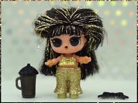 LOL Surprise Hair Vibes DISCO QUEEN Sealed Bags Rare Doll w/ Gold Hairvibes Ball