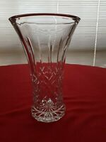 Crystal Vase Majestic Cut 22cm