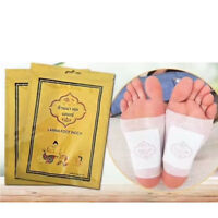 10Pcs Lanna Detox Foot Patch Detoxify Toxins Adhesive Keeping Fit Plaster Care..