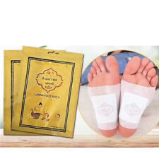 10Pcs Lanna Detox Foot Patch Detoxify Toxins Adhesive Keeping Fit Plaster Care