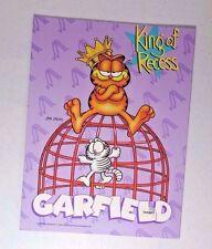 vintage garfield mead folder..........  King of Recess