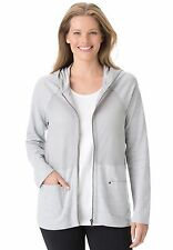 WOMAN WITHIN MESH ACTIVE JACKET PLUS SIZE 1X 22/24 **NEW IN PACKAGE!**