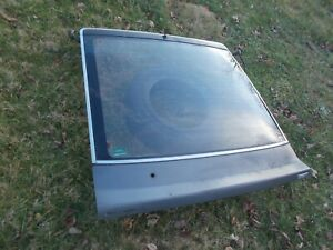 Nissan 300ZX 2 Seat Rear Hatch Lid w Glass 84 85 86  Local Pick Up Only 16946