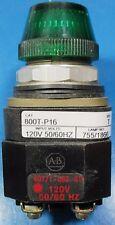 Allen Bradley 800T-P16 Transformer Pilot Light # 755/1866 Bulb Green  Lens