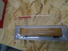 N Scale Red Caboose Centerbeam Lumber Car CNA
