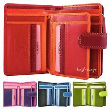 Para mujer Cartera de Cuero Suave Multi Colores Visconti nuevo en caja de regalo RB51