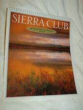 NIB Cnd 2010 Sierra Club Wilderness Wall Calendar Nature Vistas Environmental Mb
