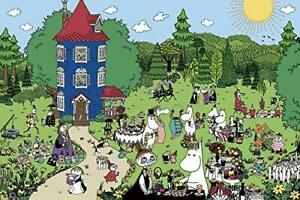 Welcome to the 1000 piece jigsaw puzzle Moomin house! (50x75cm)