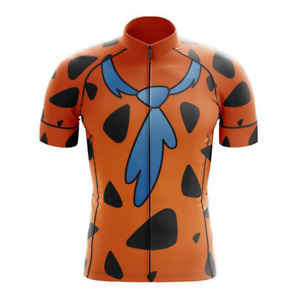 Flintstone Cycling Jersey Short Sleeve