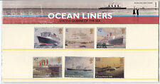 2004 GB, 'Ocean Liners', Royal Mail Stamps Presentation Pack (No. 359)