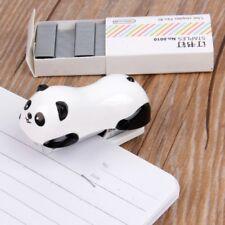 Mini Panda Stapler Set Paper Binder Within 1000pcs Staples Office School Supply