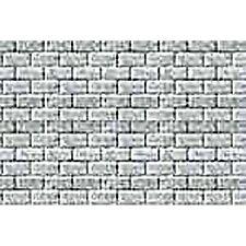 JTT Scenery Products 1:125 TT-scale Concrete Block Pattern Sheet, 2/pk 97463