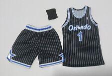 Custom 1/6 orlando magic penny hardaway  jersey 1 NBA TOYs away black