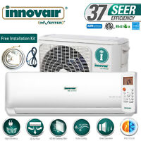 9000 BTU Mini Split Air Conditioner Heat Pump Ductless 230V INNOVAIR 37.5 SEER
