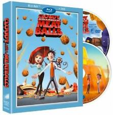 CLOUDY WITH A CHANCE OF MEATBALLS **NEW BLU-RAY + DVD**