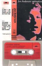 JON ANDERSON Animation DIFFICULT SPANISH cassette 1982 YES PROGRESSIVE ROCK