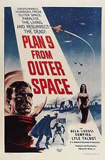 PLAN 9 FROM OUTER SPACE MANIFESTO SCIFI HORROR GREGORY WALCOTT BELA LUGOSI