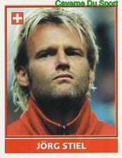 218 JORG STIEL SUISSE SWITZERLAND VIGNETTE STICKER EURO ENGLAND 2004 MERLIN