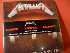 """METALLICA """" MASTER OF PUPPETS """"(LIMITED/180GRAM/45-RPM-DOUBLE-LP/FACTORY SEALED)"""
