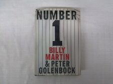 Billy Martin New York Yankees Signed Number 1 Book 18 Sigs Yogi Griffey Gossage